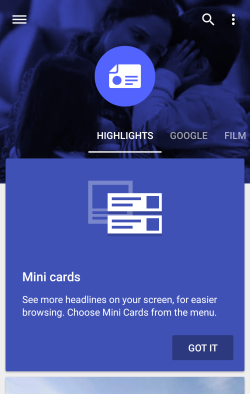 A tutorial on how to Create Google's Newsstand App - Android